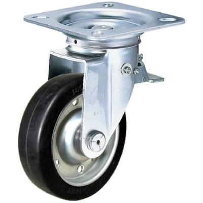 锤牌 HAMMER CASTER  400F0SWR125  定向脚轮宽幅橡胶脚轮
