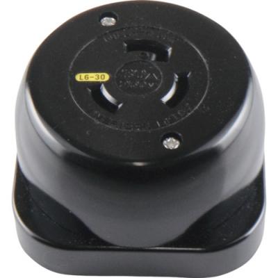 美国电机 AMERICAN DENKI 3321-L6  插座 接地2P30A250V