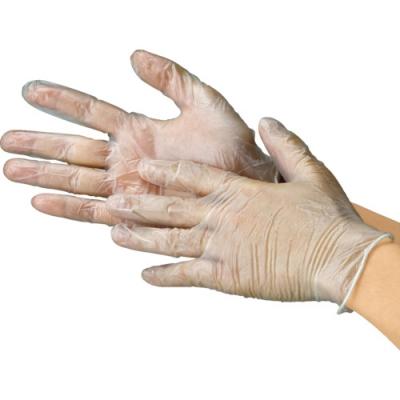 川西工业 KAWANISHI 2022-M 乙烯基  手套 有粉 100枚  M 尺码